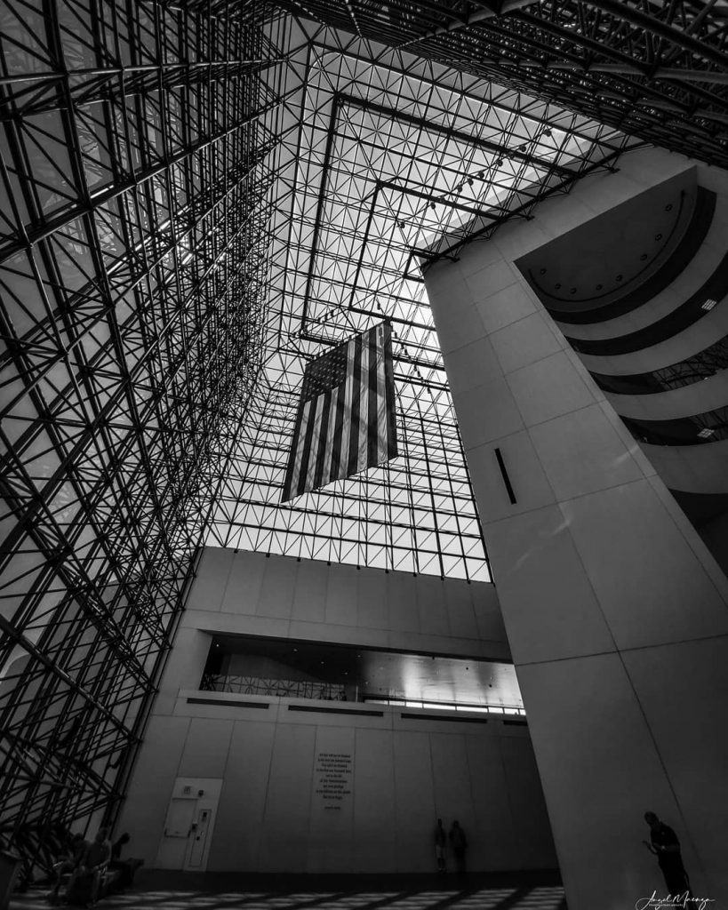 Image of the Atrium at the JFK Presidential Library